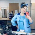 """Kartuzy. Klaudia Kuchtyk w roli salowej Czesi w serialu """"M jak Miłość"""""""